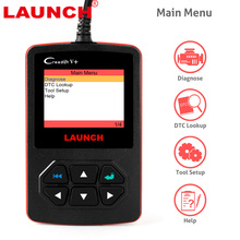 OBD OBD2 Car Scanner launch creader v+ Auto OBD 2 Fault Code Reader Scanner Update Online Automotive Diagnostic Tool creader v+
