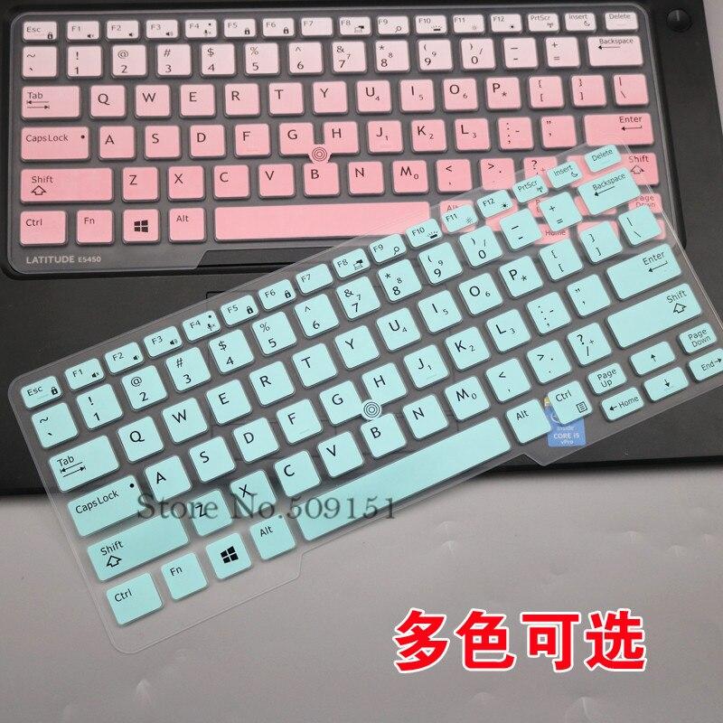 Keyboard Cover Skin Dell Latitude 14 Inch,Dell 7490 5480 5490 Cover,Dell 3340 US