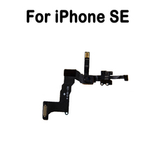 100% New Front Facing Camera Module Flex Cable For iphone SE with Mic Proximity Light Sensor Ribbon Replacement Parts