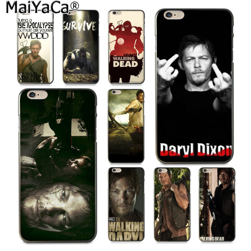 MaiYaCa Walking Dead Daryl Dixon Amazing new arrival phone case cover Apple iPhone 8 7 6 6S Plus X 5 5S SE 5C Cover