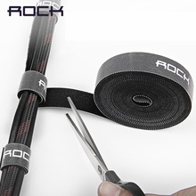 ROCK Cable Organizer Cord Winder Holder Earphone Mouse Wire Protector iPhone type c Desktop Management Micro USB Cable Clip