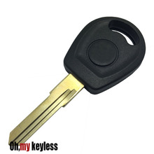 20pcs/lot Transponder key shell for vw jetta replacement key case no chip