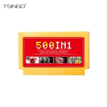 TSINGO 8Bit 60Pins Game Card Classic Games Collection For Handheld Game Players Family Game Memory Card For TV Video Console(China)