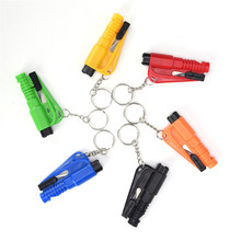 1PCS Mini Safety Hammer Car Life-saving Escape Hammer Emergency Glass Breaker Window Keychain Car Window Broken(China)