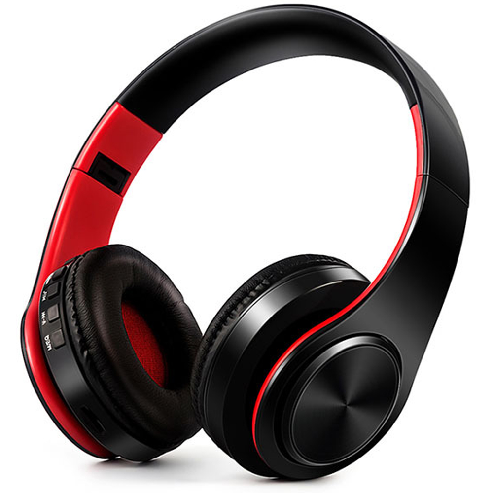 Aipal wireless bluetooth headphone foldable support mp3 TF card functions noise canceling Deep bass stereo music headset<br>