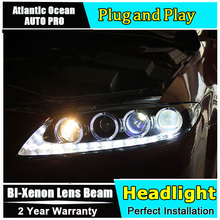 AUTO.PRO 2003-2013 For mazda 6 headlights LED light bar DRL h7 For mazda 6 head lamps Bi-xenon Double lens parking light car sty