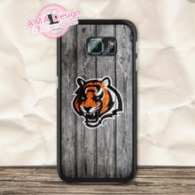 Cincinnati Bengals Football Case For Galaxy S8 S7 S6 Edge Plus Plus S5 mini S4 active Core Prime A7 A5 Win Ace Note 5 4(China)