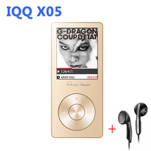 Mini reproductor MP3 With Built-in Speaker MP 3 Music Player with hifi speaker londspeaker IQQ X05 mp-3 usb hifi player malkman(China)