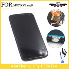 100% Tested For Motorola For Moto X XT1052 XT1053 XT1056 XT1058 XT1060 LCD Screen Display Touch Digitizer Assembly+Frame New
