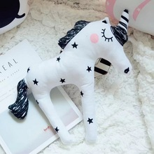 Buy New Soft Dolls Unicorn Horn Sleep Pillow Baby Child Kids Plush Toys Lumbar Cushion Princess Doll Babies Animals Lovely Toys Gift for $2.50 in AliExpress store