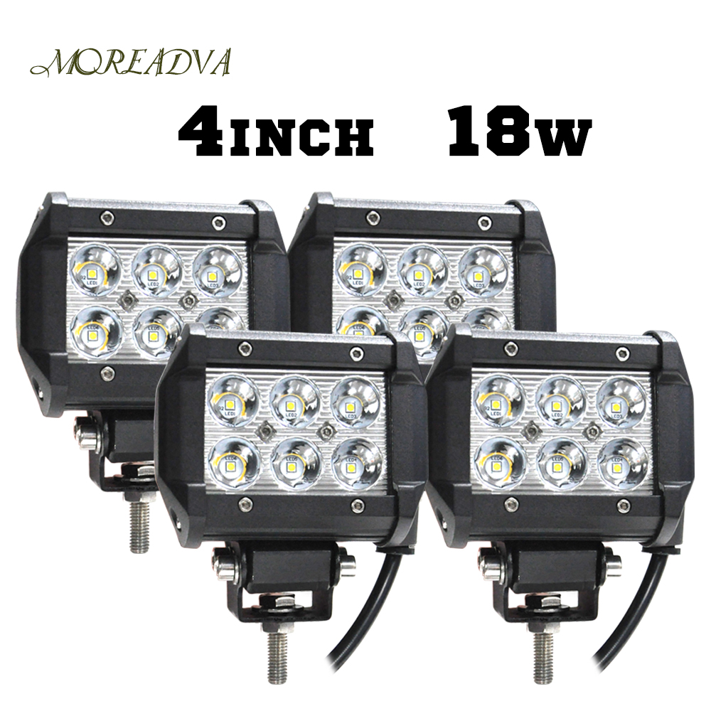 4PC 418W DRL LED FOG LIGHT FOR MOTORCYCLES SPOT FLOOD BEAM OFFROAD WORK LIGHT BAR FOR TRACTOR BOAT MILITARY EQUIPMENT LED LIGHT<br><br>Aliexpress