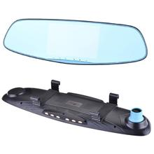 2017 new 5.0-inch front-and-rear dual-video 1080P HD rearview mirror travel recorder Car DVR Mirror Camera Dual Lens @tw(China)
