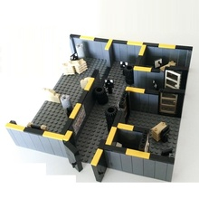 Police Training Room City swat gun police military tactical lepin weapons accessories lepin mini figures original Block toys