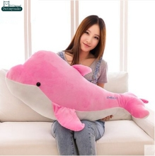 Dorimytrader 39'' / 100cm Lovely Doll Stuffed Soft Plush Giant Animal Dolphin Toy Nice Kids Gift 2 Colors Free Shipping DY60985