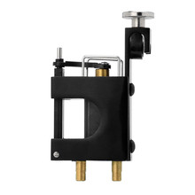 ATOMUS Black Machined Aluminum Alloy Rotary Motor Tattoo Machine Liner Shader Kit SET(China)