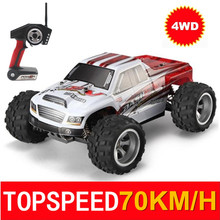 70KM/H 1:18 4WD RC Car A979 Updated Version A979-B 2.4G Remote Control Truck RC Buggy Highspeed Off-Road Vehicle A959