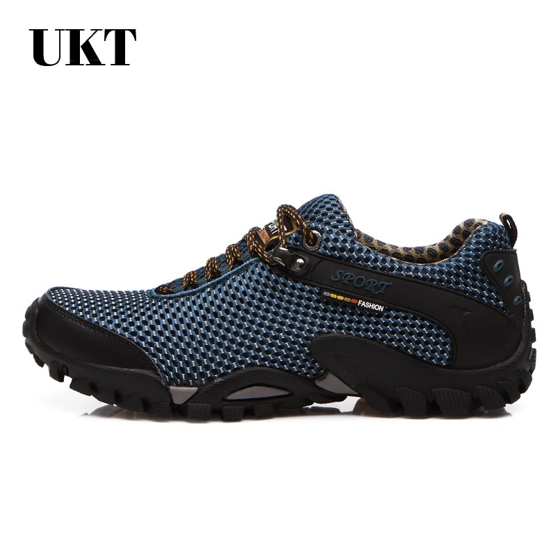 2017 NEW men spring summer outdoor hiking breathable mesh trekking sport camping mens sneakers hunting top quality walking shoes<br>