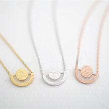 Fashion globe pendant necklaces Hemisphere model plane draw pendant necklaces Lovely spherical silver plated necklaces(China)