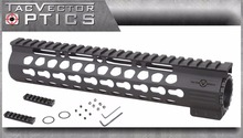 Vector Optics Slim KeyMod 10 Inch Free Float Handguard Mount with Steel Barrel Nut Shim fit Real Ruger DPMS Bushmaster AR15 M4(China)