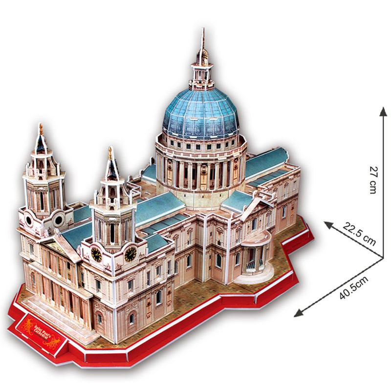 St Pauls Cathedral 3D Puzzle Toys Children Educational Toy DIY Cardboard Model Creative Toys for Child Gifts<br><br>Aliexpress