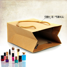 50pcs/lots 13cm*15cm+8cm High Quality Bags Craft Paper Bag Gift Paper Bags Gift Packing Jewelry Bags And Packaging