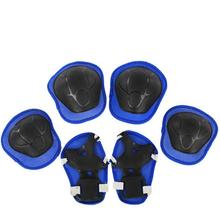 6Pcs/Set Protective Patins Set Knee Pads Elbow Pads Wrist Protector Protection for Scooter Cycling Roller Skating For Kids
