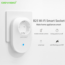 Orvibo B25 EU WiFi Socket Smart Remote Control Power Socket Plug Home Automation App for iPhone Android Smartphone(China)