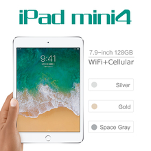 Apple iPad Mini 4 Wifi and 4G LTE Tablets PC 2gb RAM+128gb Flash Disk 6.2mm Thin Portable Apple iPad 7.9 inch pc Gaming Tablet(China)