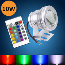 Nice Discount 10W Led Underwater Lights For Aquarium/Swimming pool Night Lighting DC12V RGB Colorful Light Belt Remote Control