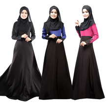 2015 Muslim dress abaya kaftan in dubai abayas islamic jilbabs and abayas turkish traditional long dress JZ3667