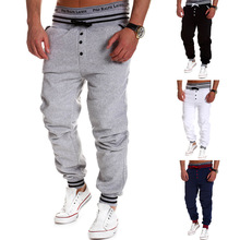 New arrival clothing mens joggers sweat pants compression tights men fitness men pants pantalones fitness hombre(China)