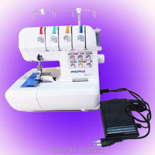 Domestic Serger/Overlock Sewing Machine,120W,Three/ Four Thread Sew,With Foot Pedal&Lamp,Great Quality, Metal Body, ACME 320