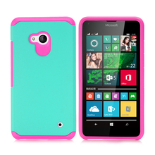 Lumia 640 Shockproof Case,  Hybrid Rugged Armor Heavy Duty Hard Cover For Microsoft Lumia 640 LTE / Dual SIM Mobile Phone
