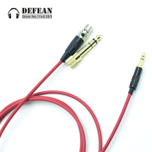 Replacement diy audio Line cord wire Upgrade Cable for Pioneer HDJ-2000 HDJ2000 hdj 2000 headphone(China)