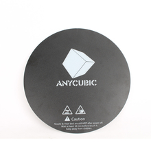 ANYCUBIC 3D Printer Heat hot bed Sticker Tape 200mm or 240mm Round Print Build Plate Tape For Delta 3D Printer Part(China)