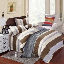 UNIHOME New style Reactive Print 4Pcs bedding set luxury include Duvet Cover Bed sheet Pillowcase home textile