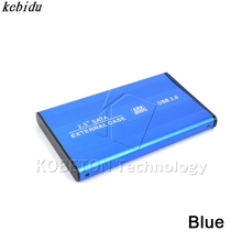 kebidu 1pcs External USB 3.0 to SATA 2.5'' Hard Driver Disk Box Case Storage Case HDD Enclosure for PC Laptop Notebook