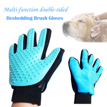 True Touch Glove Pet Dog Bath Brush Massage Deshedding Puppy Cleaning Hair Fur Removal Efficient Grooming Pet Supplies 15