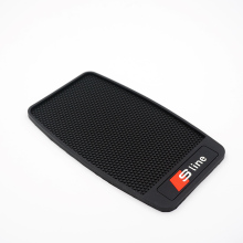 Super Sticky Sline Car Mobile Phone Pad S line Anti-Slip Mat Silicone for AUDI Q5 Q7 S4 A3 A4 A5 A6 A8L All Series Car Styling