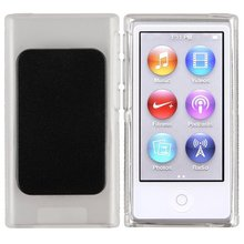 TPU Gel Skin Protective Cover Case with Belt Clip for iPod Nano 7 7th Generation