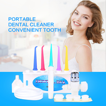 Portable Dental Cleaner Convenient Tooth Care Professional Water Floss Oral Irrigator Dental SPA Cleaner(China)