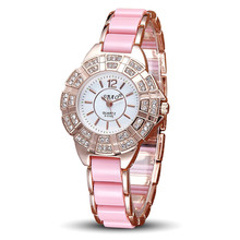 2016 Top selling 10 candy colors SBAO ladies Fashion High-end Watches Diamond rhinestones Bracelet Watch Relojes Mujer Wholesale(China)