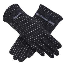 Fashion women pink cute gloves&mittens Thin Short warm thick Winter Gloves, wool kintting Mittens, Elegant & Soft high quality