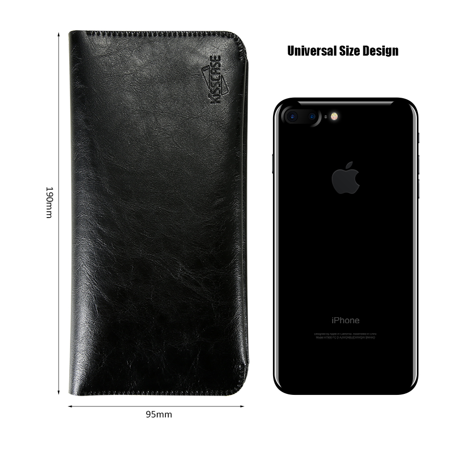 pu leather card holder holster (2)