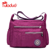 Women's Messenger Bags Ladies Nylon Handbag Travel Casual Original Bag Shoulder Female High Quality Large Capacity Crossbody Bag(China)