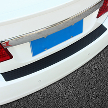 Car trunk bumper trim rear guard plate modified protective strip For Dodge Caliber Challenger Charger Durango