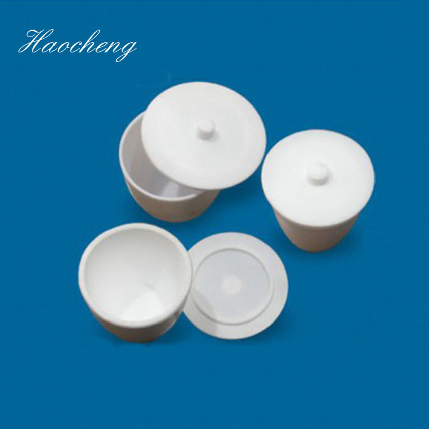 20ml chemistry laboratory commonly used equipment white PTFE crucible <br>