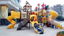 Exported to Chile TUV Approved Safety Material Playground Set HZ15a-126a(China)