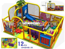 Nursery Kids Indoor Playground Equipment  CE Certificated  Kids Play Center HZ-6325A