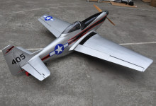 "96"" Mustang 100cc Scale RC Plane Gasoline ARF Airplane Model Wood Fix Wing Plane US Stock Free Shipping(China)"
